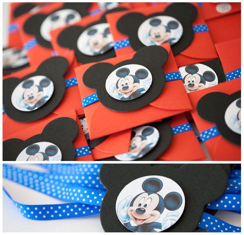 Invitaciones Mickey Cumpleaños De Mickey Mouse