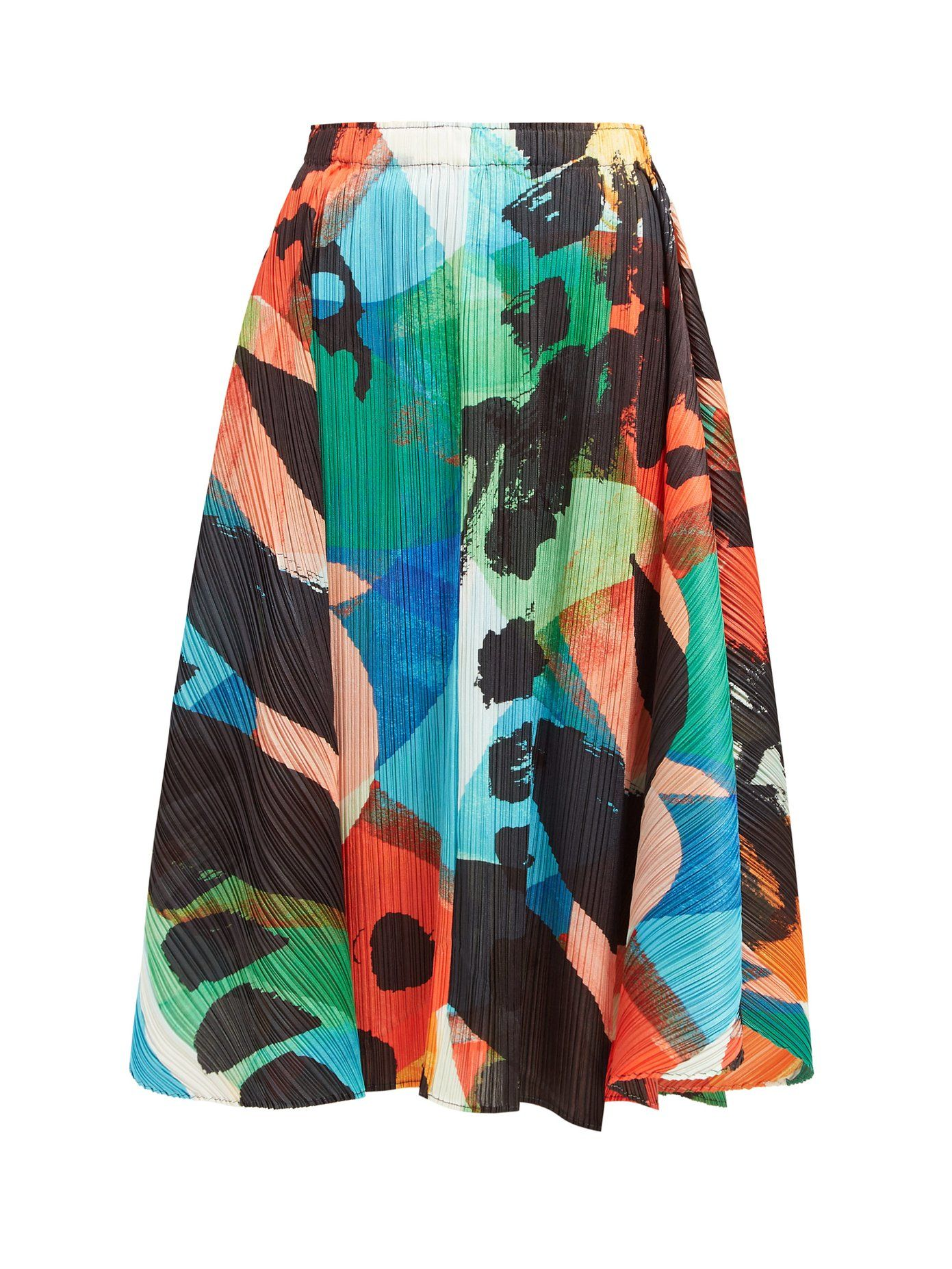 b3f63568e Laughing Rope printed pleated midi skirt | Pleats Please Issey Miyake |  MATCHESFASHION.COM UK