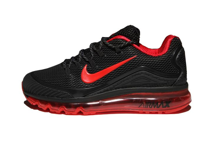 sports shoes be50b 68388 Men s Nike Air Max 2018 Elite KPU TPU Shoes Black Red
