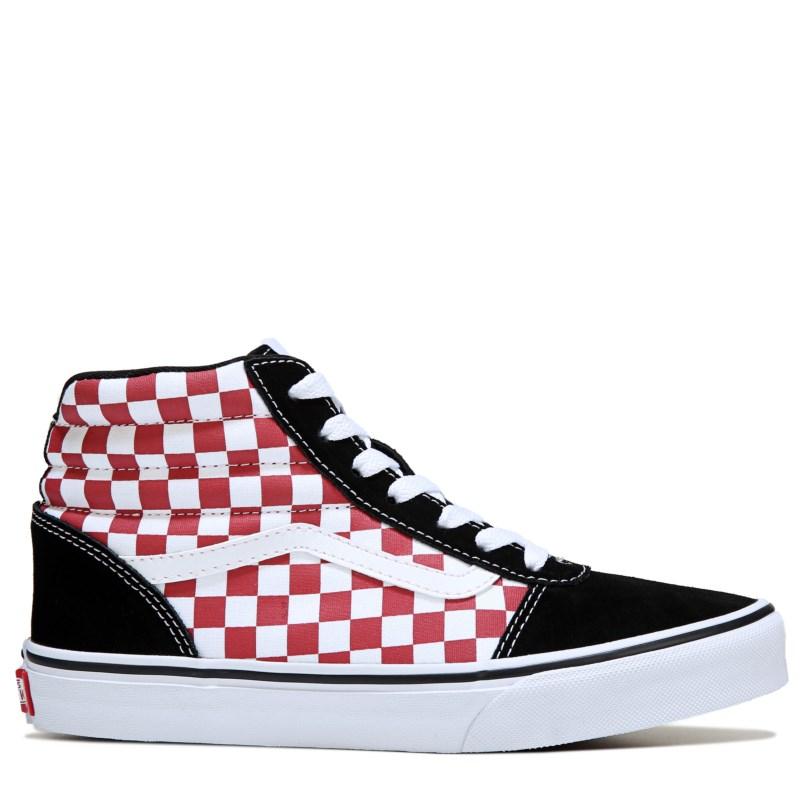 2vans checkerboard rosse