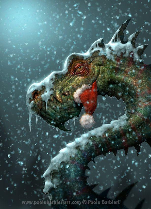 Merry Christmas by Paolo Barbieri Art | Beautiful Artwork ...