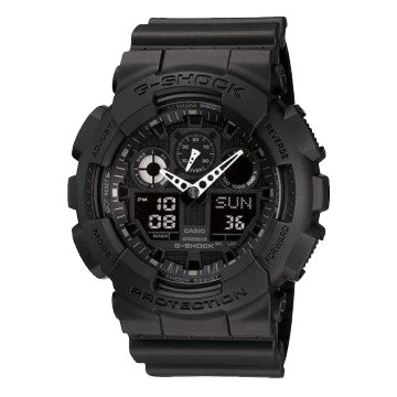 G-Shock Ana-Digi 3 Eye Dial Military Series GA100-1A1