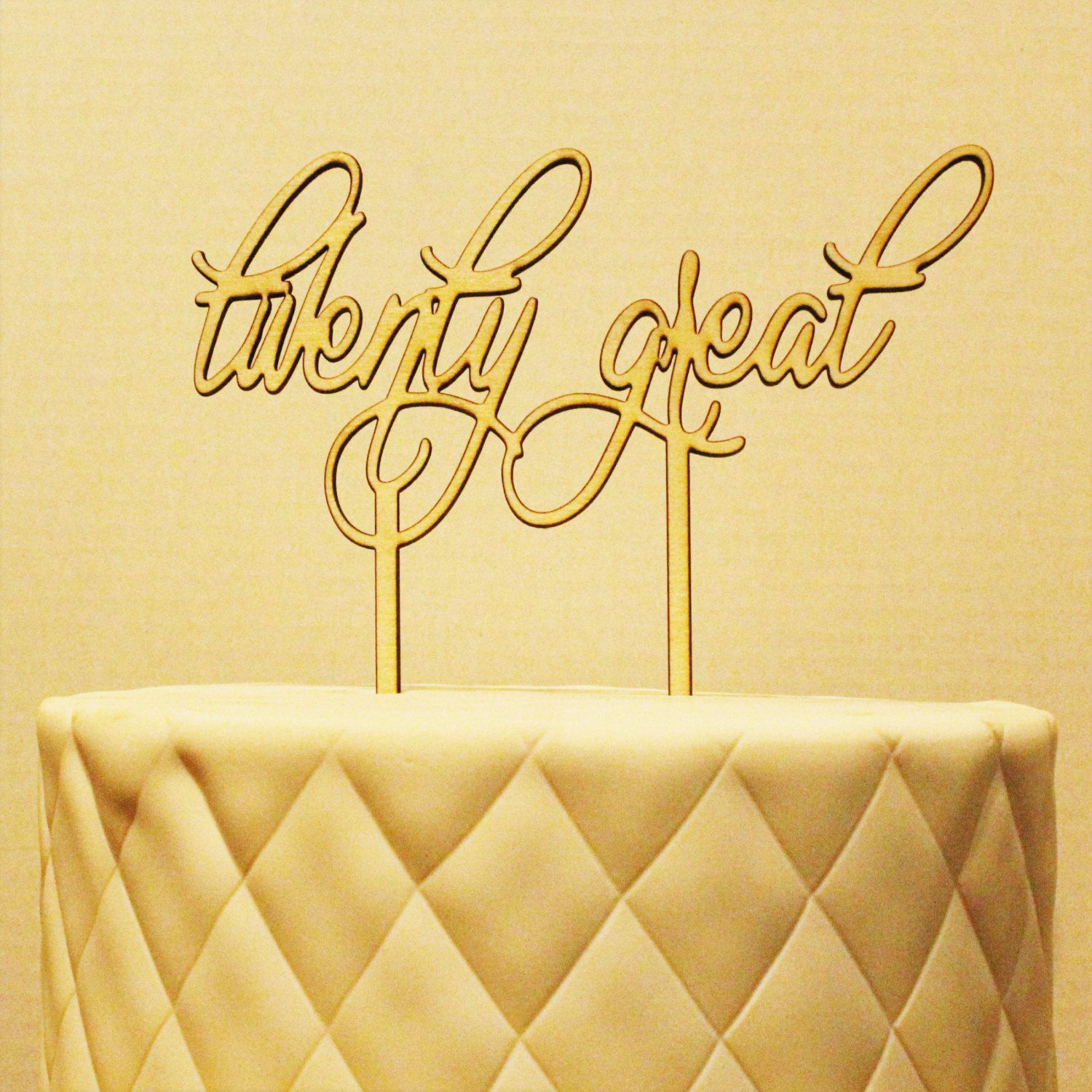 Twenty Great Happy Birthday Cake Topper | Happy birthday cake topper