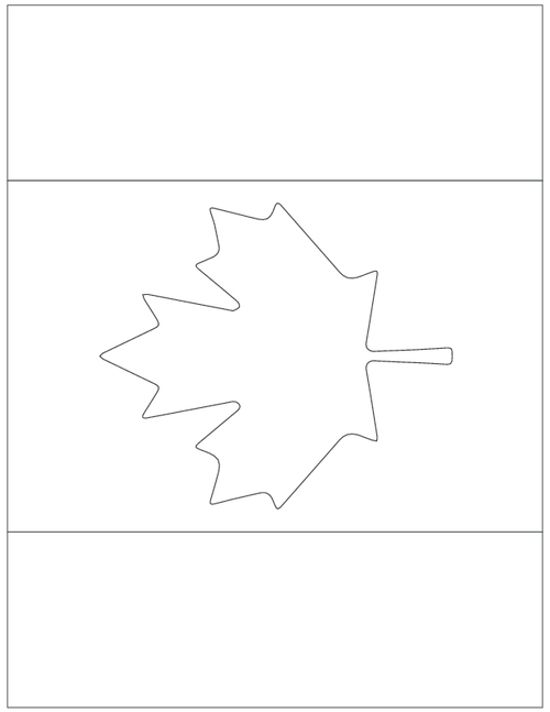 Free Gift This Page Limited Downloadable Canada Day Pdf Flag
