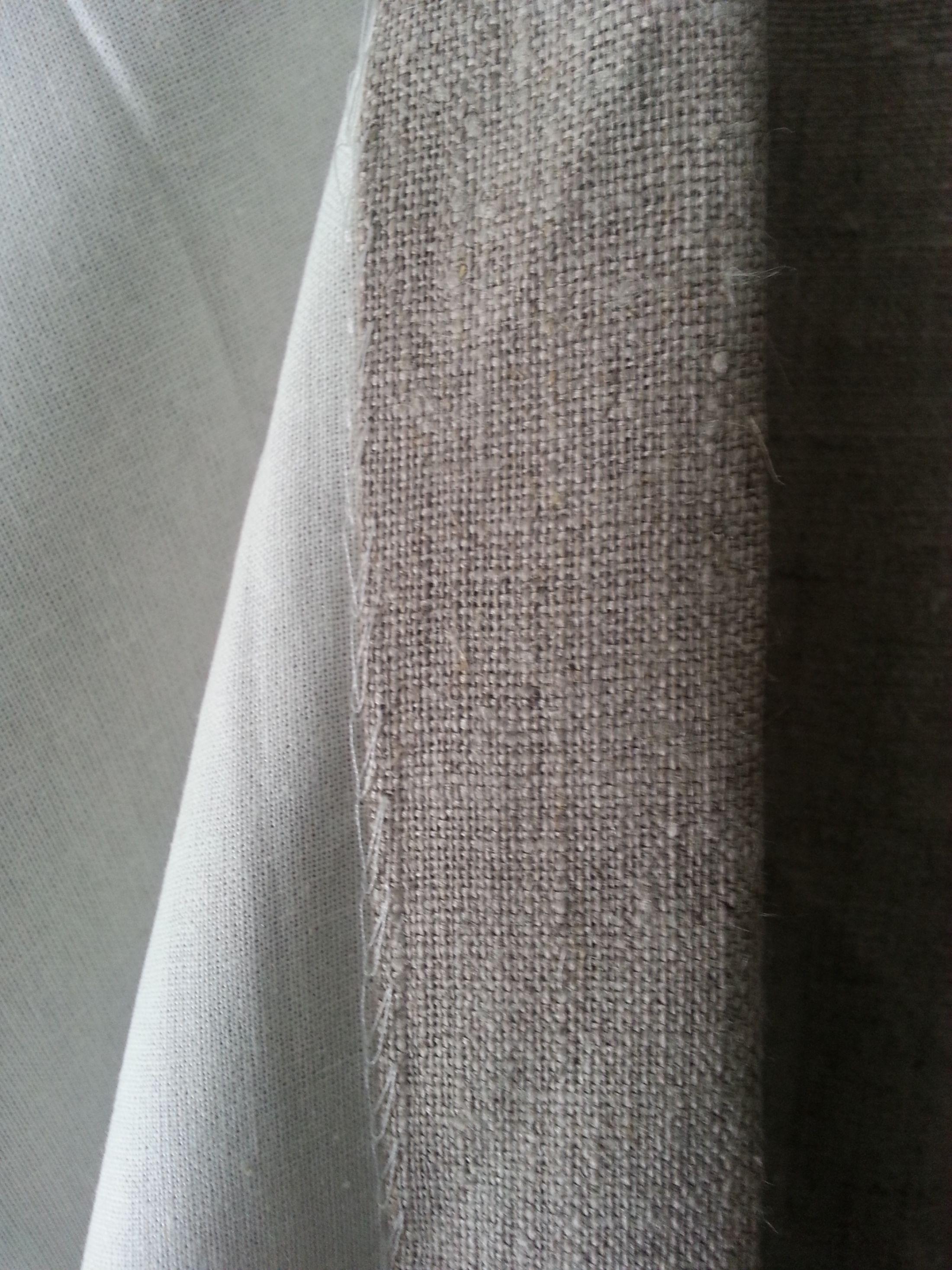 gevoerde linnen gordijnen Tydloozz | Gordijnen | Pinterest | Garden ...