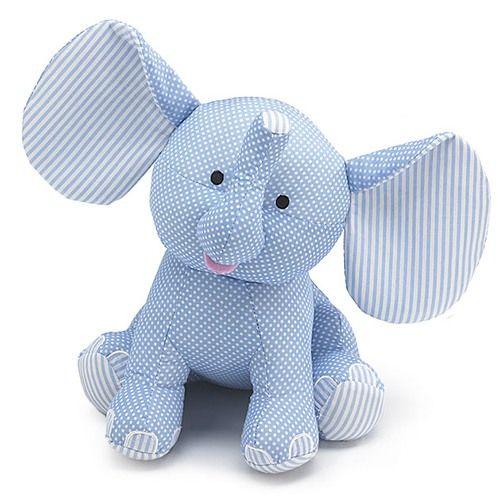 Plush Autograph Elephant With Images Elephant Plush Toy