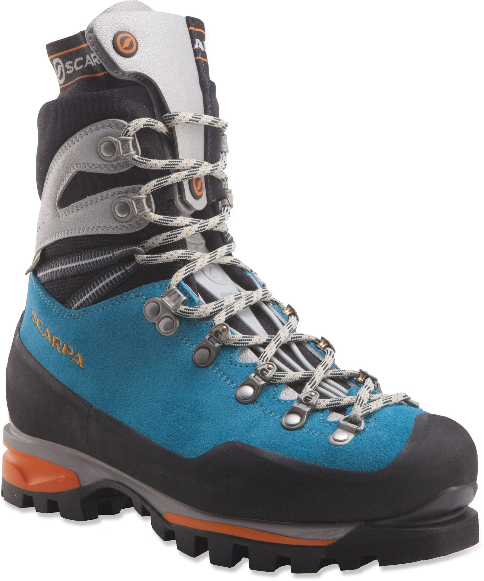 save off 5a839 6a80d Scarpa Female Mont Blanc Pro Gtx Mountaineering Boots - Women s