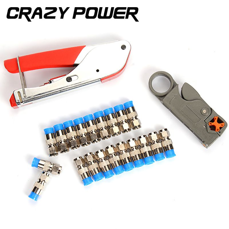 promo crazy power coaxial cable wire stripper rg6rg59 compression f ...