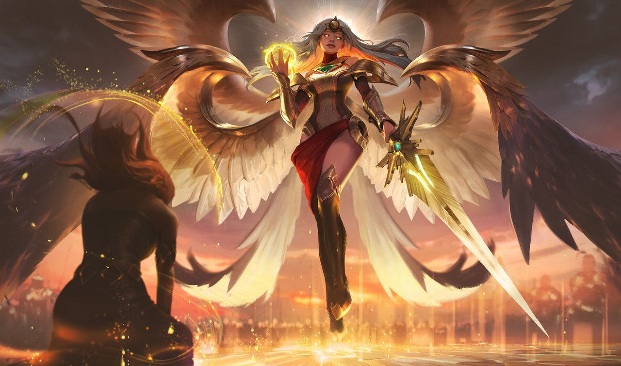 Transcended Kayle by Atey Ghailan (With images) League