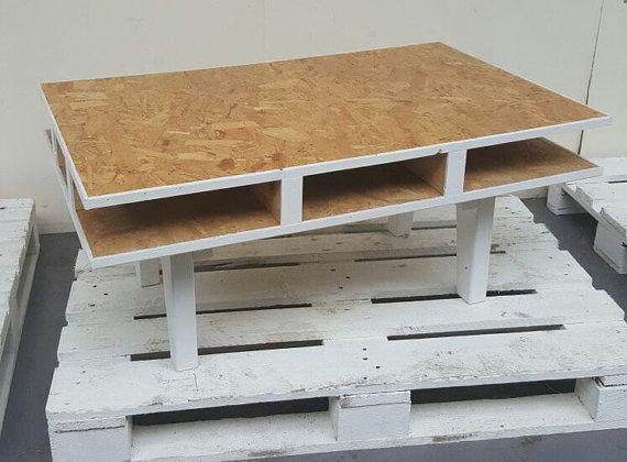 Planche De Sterling Rustique Fait A La Main Table Basse Osb Osb
