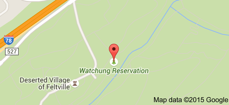 Map of Watchung Reservation | Places to Go Watchung Reservation Map on