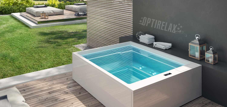 Berühmt Outdoor Whirlpool - Spa kaufen von OPTIRELAX® | Backyard Jacuzzi DH23