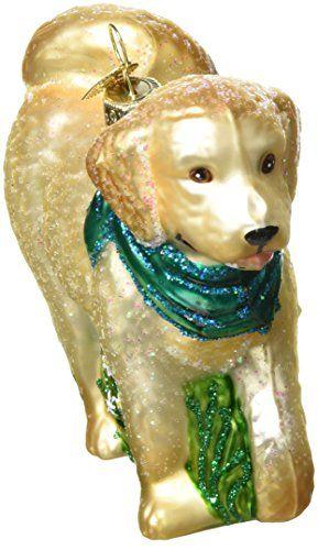 Old World Christmas Doodle Dog Glass Blown Ornament \u003e\u003e\u003e Read more at