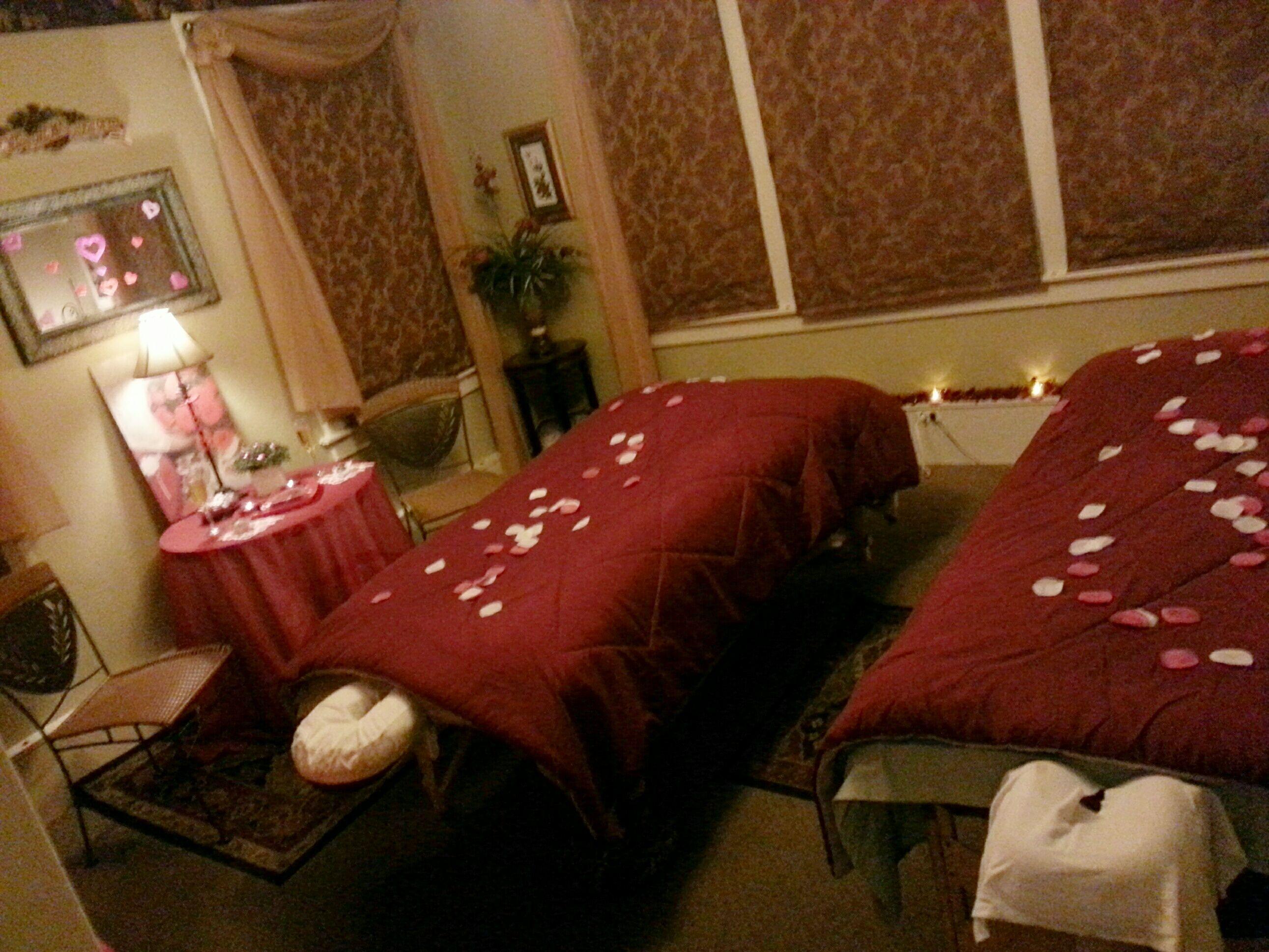 Couples Massage February Valentines Pinterest
