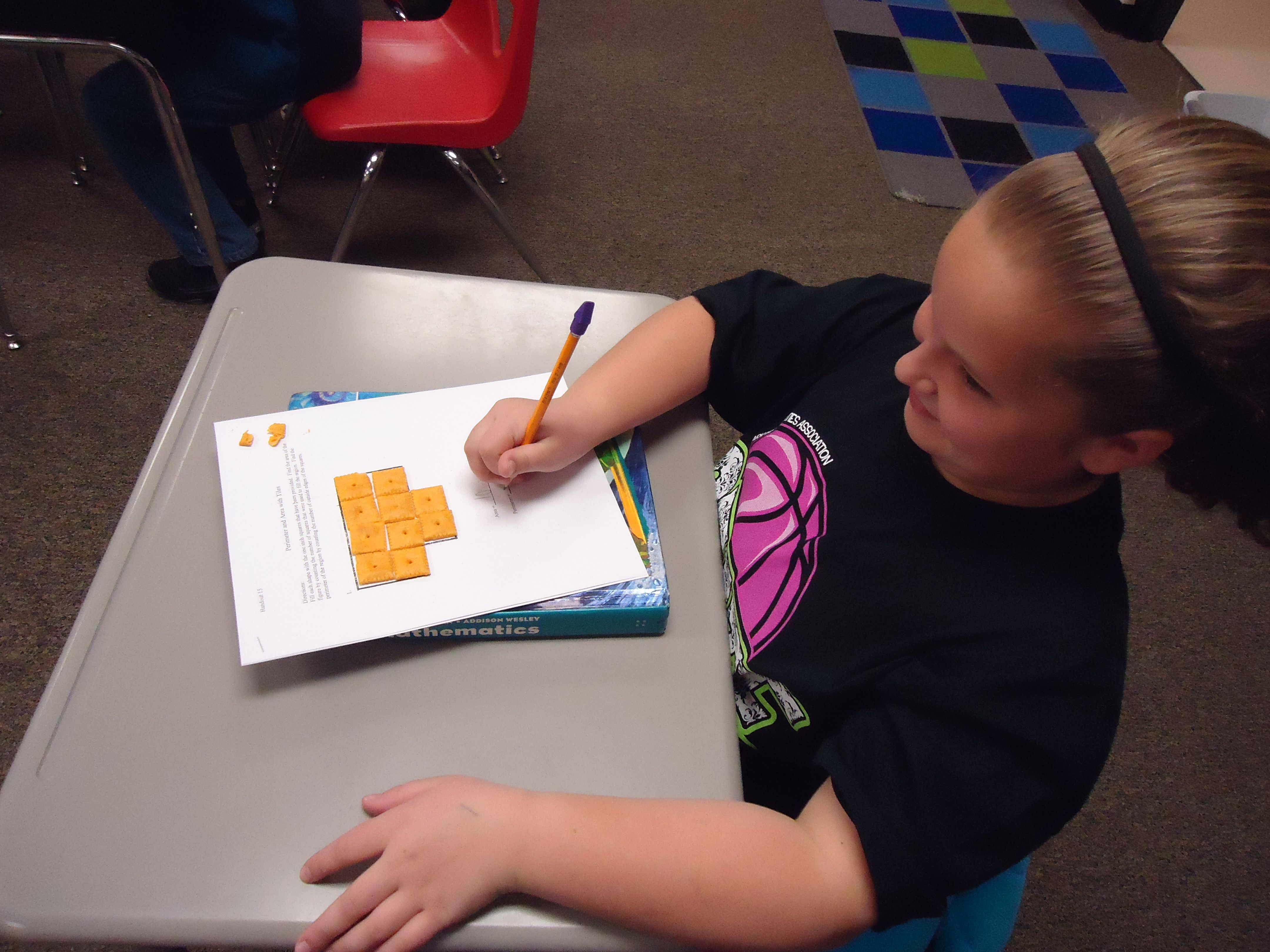 Fun And Tasty Math Ea And Perimeter With Cheez Its