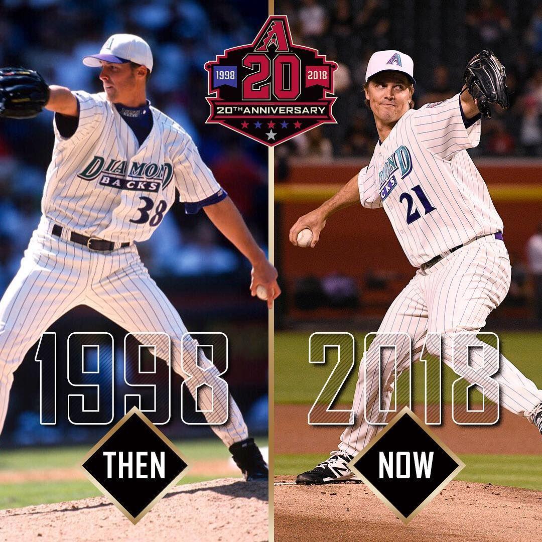Then and now. DbacksTBT GenerationDbacks Arizona