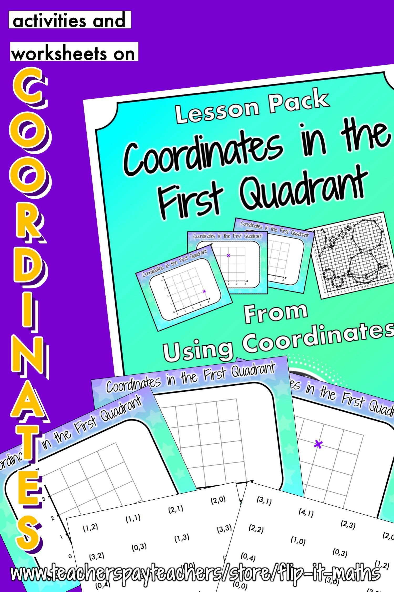 Coordinates In The First Quadrant In
