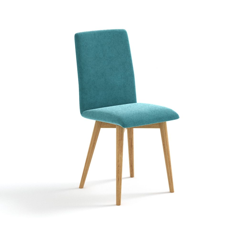 Krzeslo Classic Slim Debowe Tapicerowane Dowolny Kolor Nogi
