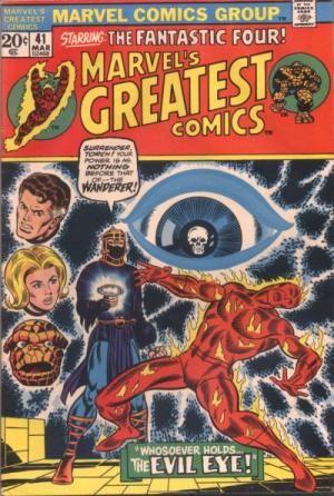 Reprints FF #54. Cover by Jim Starlin.