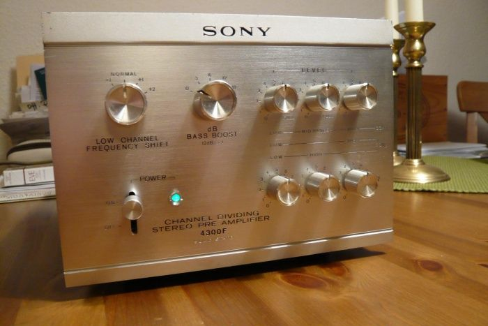 Sony TA-4300F Active Frequency Crossover   Golden Age of ...