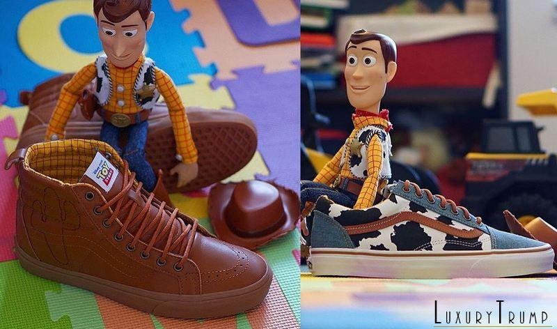 Vans Toy Story Woody Moda casual