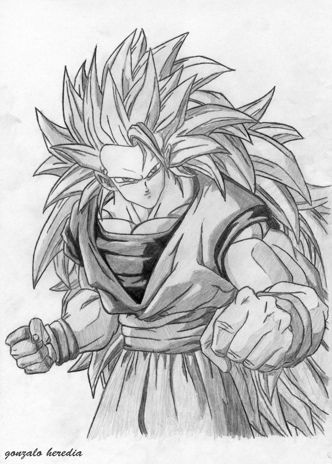 dibujos de dragon ball a lapiz  Dragon ball Dragons and Goku