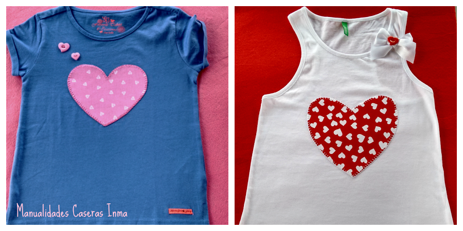 Manualidades para regalar camisetas decoradas para ni as for Manualidades caseras para regalar
