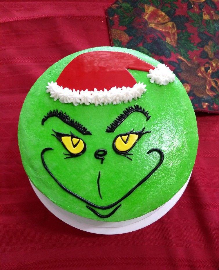 The Grinch cake Grinch cake, Grinch party, Cake