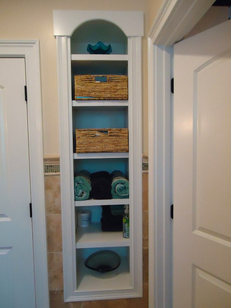 Using Space Between Studs For Storage Kevinallencarpentry Com