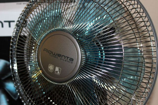 You will stay cool with the @rowentausa  Turbo Silence fan and a Giveaway