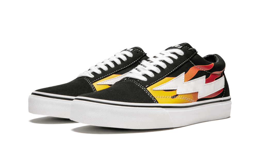 Revenge X Storm 'Flames' Shoes Size 8 in 2020 | Vans skate