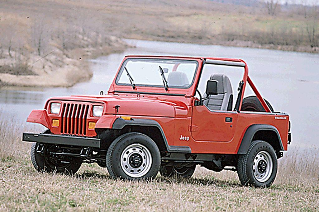1990 95 Jeep Wrangler Consumer Guide Auto Jeep Wrangler Jeep