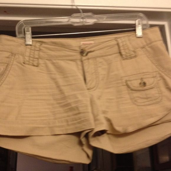 Shorts Tan color shorts . Very cool . Mossimo. In good go diction . Mossimo Supply Co Jackets & Coats