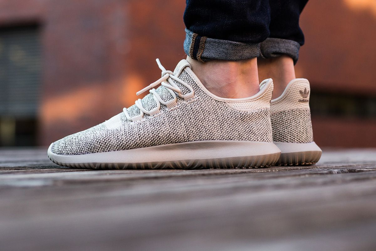 men's adidas tubular shadow knit brown