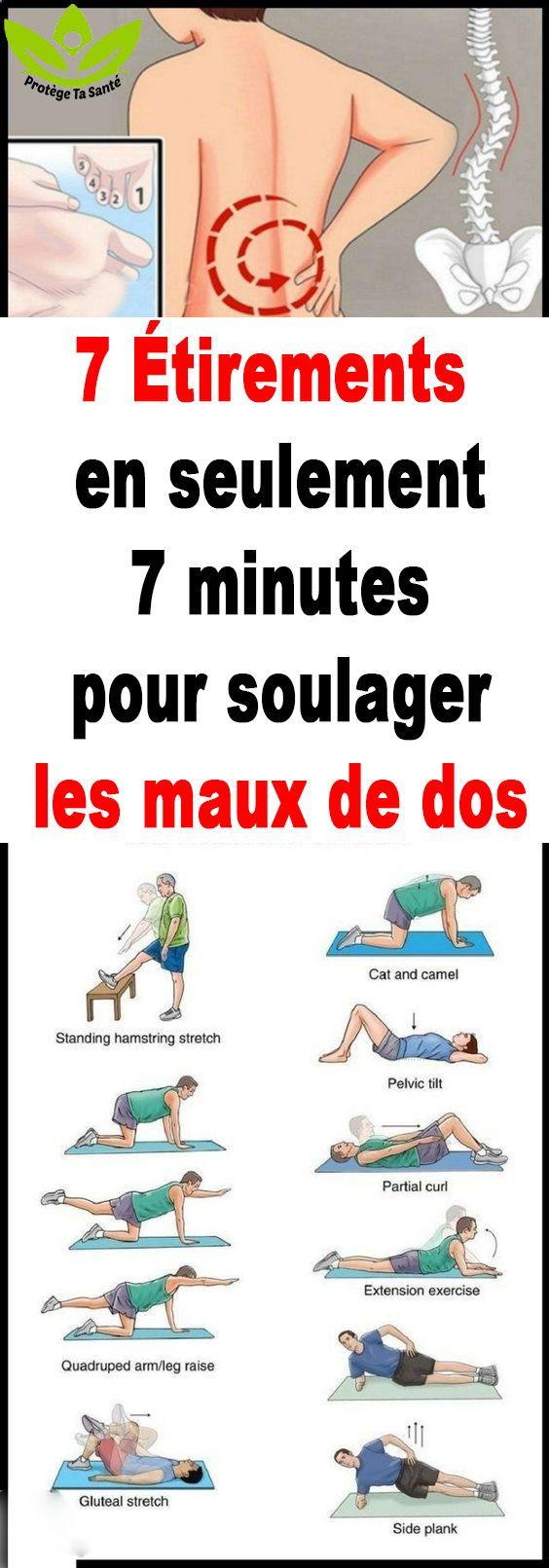 7 Étirements en seulement 7 minutes pour soulager les maux ...