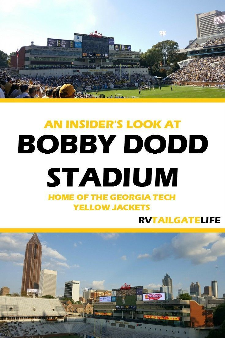 An Insider's Look at Bobby Dodd Stadium Bobby dodd