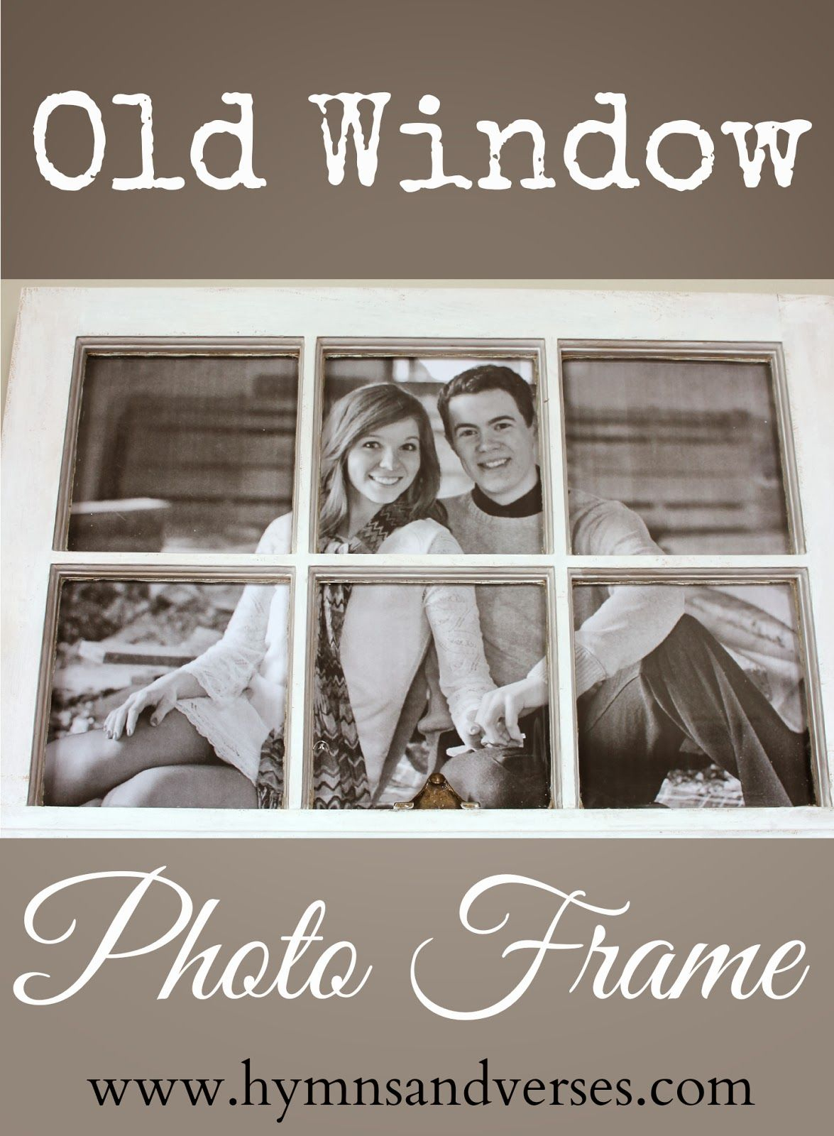 Maison Bricolage Et Décoration How To Make An Old Window Picture Frame Photos