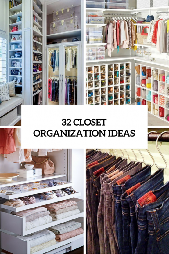 Charmant 32 Cool And Smart Ideas To Organize Your Closet (DigsDigs ...