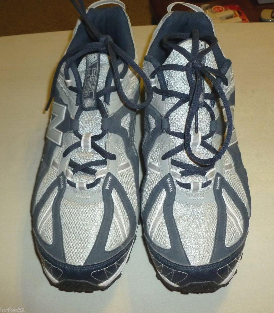 New balance mtnw menus e wide navy u gray size running shoe