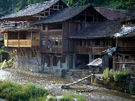 Found In China S Guizhou Province Chinese Architecture Houses In China Chinese Houses Rural Architecture Traditional House Architecture