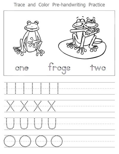 Fun PreHandwriting Worksheet Packet  Trace Lines And Letters