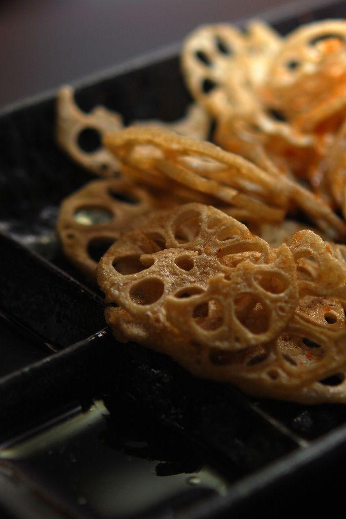 Lotus Root Tempura (renkon)