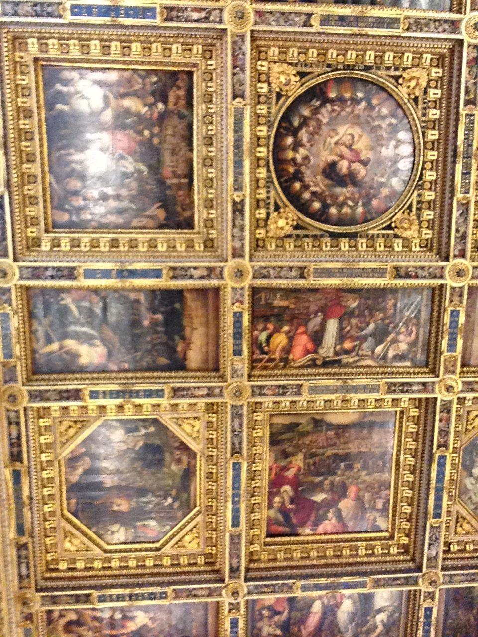Soffitto Salone Dei Cinquecento Palazzo Vecchio Firenze