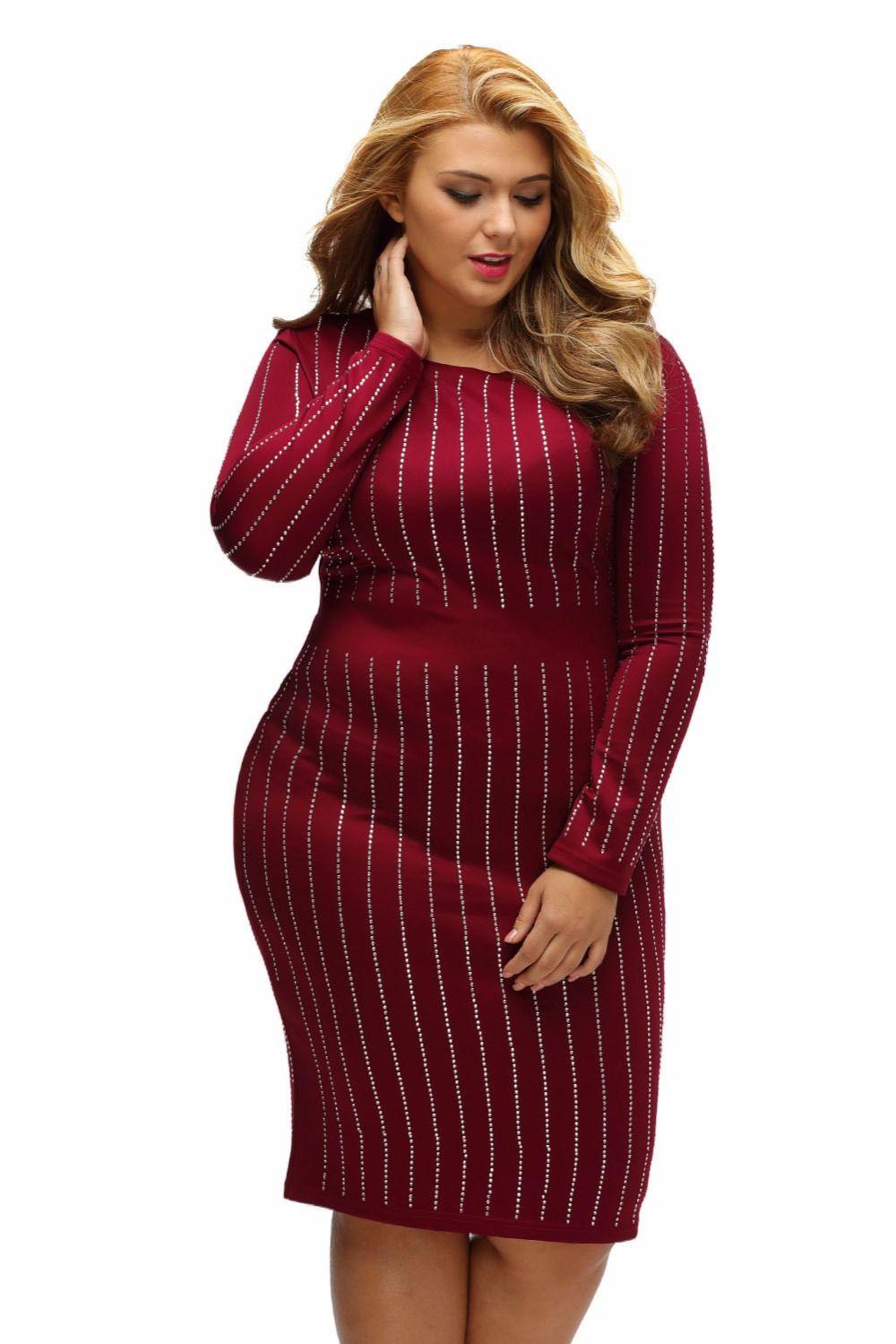autumn new fashion ol style women plus size dresses big girls