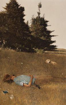 Distant Thunder - Andrew Wyeth