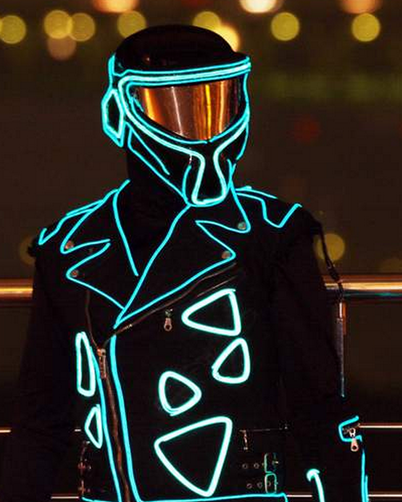 el wire is insane check out the video on our product page it will blow your mind glow in the dark led halloween costume rave outfit robot costume - Halloween Led Costume