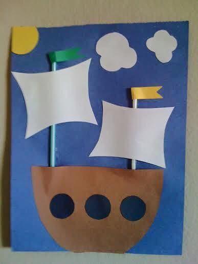 Kagit Sanat Etkinlikleri Gemi 387x516