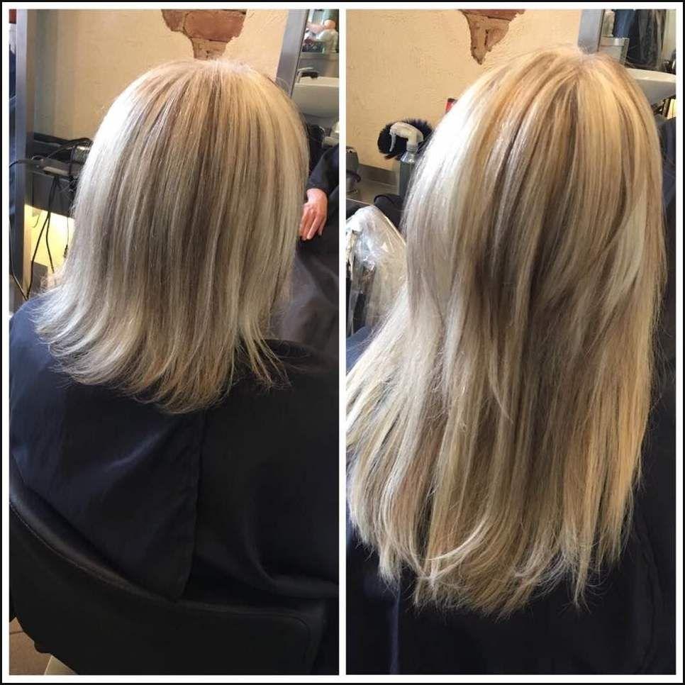Haarverlängerung Vorher Nachher Haarverlängerung Hairtalk