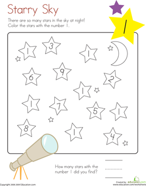 Number 10 Coloring Page  10 Coloring pages and Worksheets