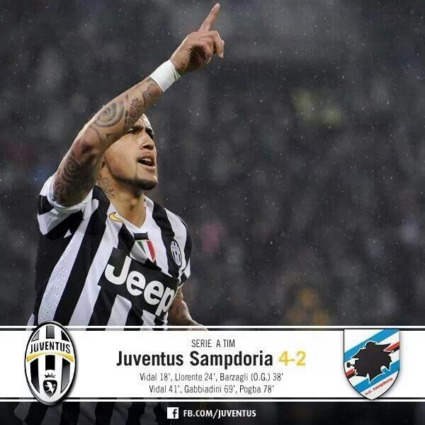 Juventus - Sampdoria 4-2